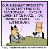 Dilbert Customer Service